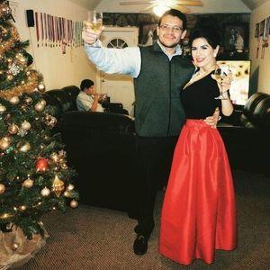 Dresses & Skirts - Christmas Red Festive Tulle Skirt